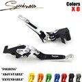 High quality CNC Motorcycle Brakes Clutch Levers For Triumph BONNEVILLE /SE/T100/Black Scrambler Tiger 800/XC Accessories