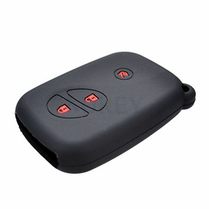 Image 4 - Voor Lexus Is IS250 GS300 IS220 LS460 RX350 RX450h CT200h Siliconen Remote Key Case Fob Shell Cover Jacket Mouw 3 knop