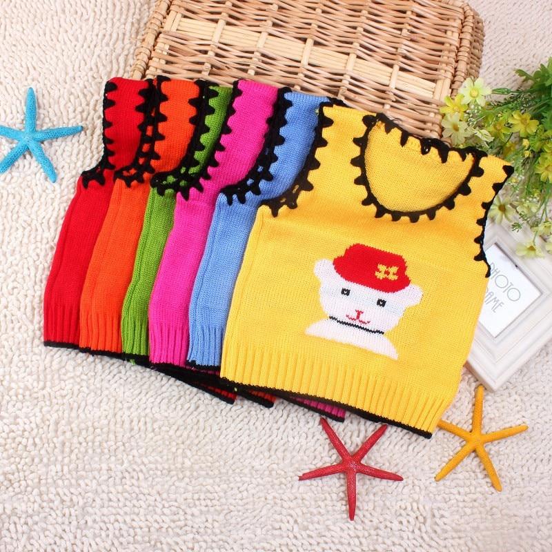 طفل الشتاء سترة متماسكة الكروشيه - ملابس للأطفال الرضع