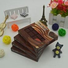 Adesivos de chocolate criativo adesivo diário alta qualidade originalitycancelleria notebook papelaria material de escritório bloco de notas