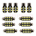 Free Shipping 8pc LED Lights Car Styling Hi-Q Interior Package Kit For Hyundai Grand Starex H-1 i800 iMax 2008-2013
