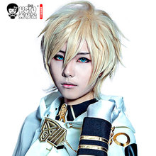 HSIU Mikaela Hyakuya cosplay wig Seraph of the End costume play wigs Halloween costumes hair free shipping NEW High quality