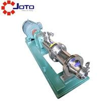 50hz/60hz 1hp Sanitary G type single screw pump High viscosity colloid pump