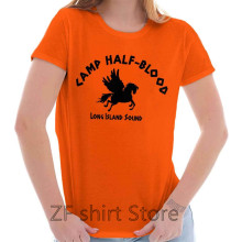 df958366 Camp Half Blood Cool Shirt Percy Jackson Funny Gift Idea Gods men T Shirt  Women funny