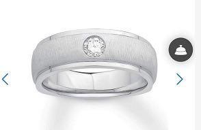 750 9MM band Ring Custom item