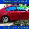 1520X10000mm Ventana Camaleón película de tinte Solar para ministerio del interior del coche
