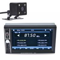 2 DIN 6 5 HD In Dash Car Touch Screen Bluetooth Stereo MP3 MP5 Hands Free