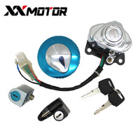 Motorcycle Ignition Fuel Gas Tank Cap Cover Lock For Honda CA250 Steed 400 600 Magna 250 VLX600 VLX400 Steed400