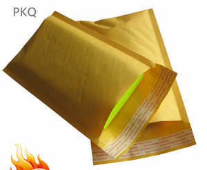 Image 5 - 100pcs 19 Sizes Yellow Thickened Kraft Paper Bubble Envelope Bags Mailers Padded Shipping Envelope With Bubble Mailing Bag