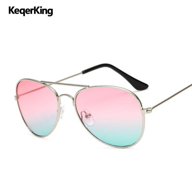 Kids Sunglasses Children Pilot Sun Glasses Baby Ocean Lens Glasses Kids Vintage Eyewear 100%UV Protection De Sol
