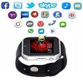 "GW05 smart watch MTK 6572 Dual core 1.54"" screen 512MB Ram 4GB Rom sim card Android 4.4 Bluetooth 3G WIFI Camera GPS PK ZGPAX S8"