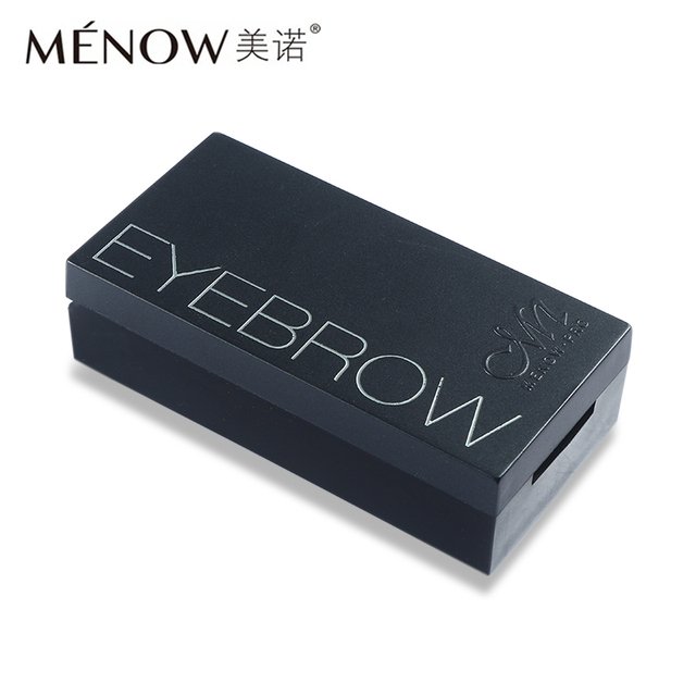 Menow Professional Eye Brow Makeup 2 Color Eyebrow Powder + Eyebrow Wax Palette Contour Bronzer Shadow with Brush Cosmetics Kit 3