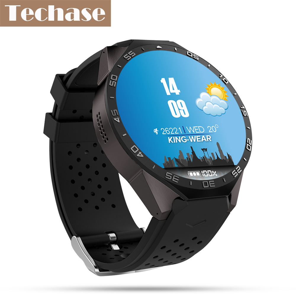 Techase Smartwatch Android OS Relogio GPS Tracker Heart ...