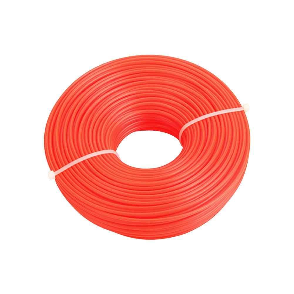 3 tipos 70 m 3mm corte profesional de Nylon recortadora de cuerda cortador de cepillo Strimmer línea de corte de alambre de corte de césped accesorio