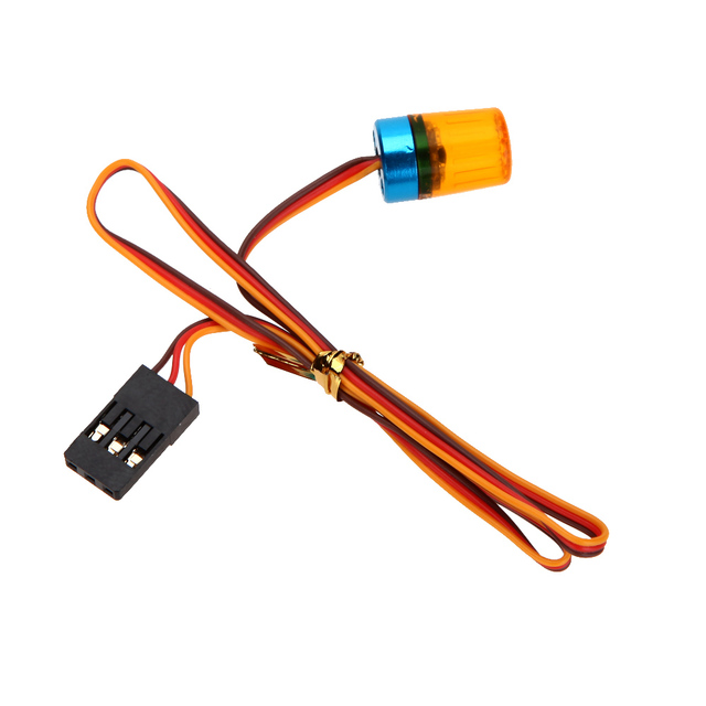 AX-511Ultra Bright RC Car LED lamp light with strobing-blasting Flashing fast-slow Rotating Mode light