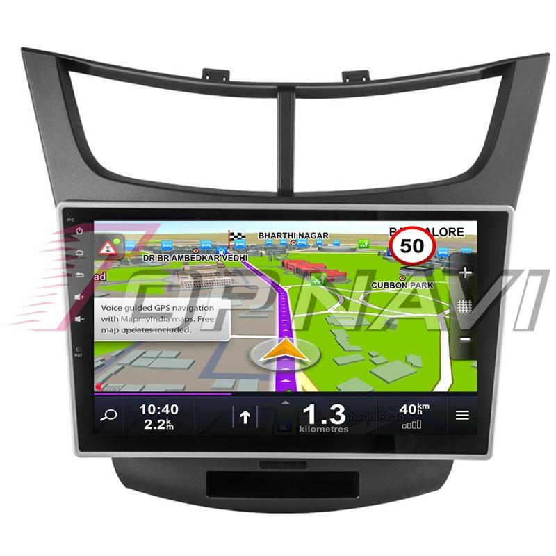 Автомобиля 10,1 ''Нет dvd плеер Android 8,1 для Chevrolet Парус 3 2015 Topnavi автомобильной MP3 MP4 gps навигации Bluetooth телефон - 2