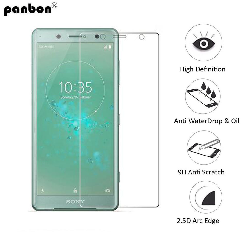 US $2 3 14% OFF|Panbon Tempered Glass for Sony Xperia XZ2 XZ 2 Compact  Protective glass Film Screen Protector on xz2 compact / xz 2-in Phone  Screen