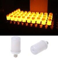 6 W הנורה E27 360 מעלות אש אפקט הבהוב להבה 99LED דקורטיבי מנורת נופש