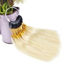7 см человеческие волосы Цвет кольцо 30 шт./компл. для салона волос Цвет диаграмма расширения и салон для окрашивания волос образцы могут быть на основе красителя каких-либо Цвет