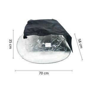 Image 2 - Светодиодный светильник с движущейся головкой 5R 7R, 10 шт., защита от дождя, водонепроницаемый дождевик, пальто для снега, уличное сценическое освещение