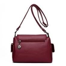 Fashion Woman Bag Leather Crossbody Bags For Women Messenger Bags Female Shoulder Handbag Crossbody Bags For Women Sac Femme