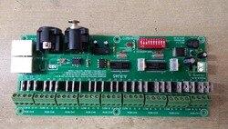 (9 grup) 27CH stałe napięcie dekoder dmx z interfejsem RJ45  wejście DC7 24V; wyjście max15A w Kontrolery RGB od Lampy i oświetlenie na