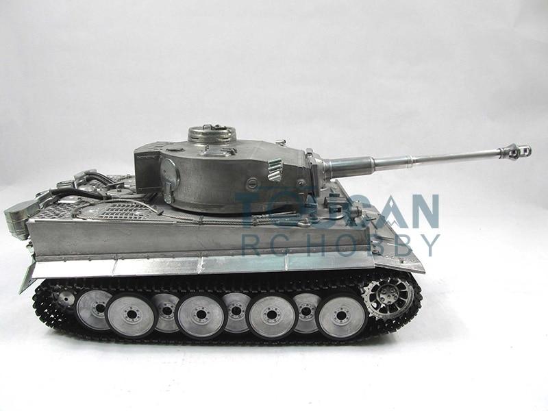 100% Metal Mato Tiger I 1/16 RC Tank KIT BB Shooting Pellets Metal Color 1220 все цены