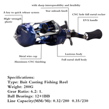 High Speed Fishing Reel