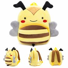 Plush Backpack Kids Animal Backpacks Baby Girls Boys Cute Schoolbag Mini Kindergarten Toys Gifts Children Cartoon Book Bag !(China)