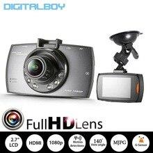 Full HD Камеры Автомобиля Рекордер G30 2.7 дюймов Автомобильный Видеорегистратор Новатэк 96220 140 Градусов Широкоугольный Регистратор Ночного Видения G-сенсор Даш Cam