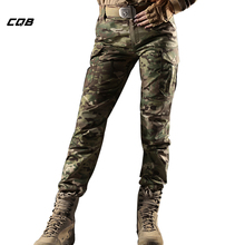 CQB Outdoor Sports Camping Tactical Military Camouflage Women's Pants CS Overalls for Climbing Hiking Trekking Female's Pants