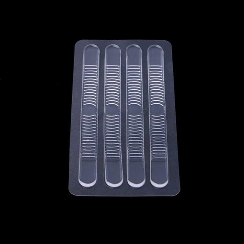 4 pcs ใหม่ซิลิโคนเจลซิลิโคนเจลซิลิโคนเจลซิลิโคนเรียวสติกเกอร์ส้นสวมใส่ป้องกันลื่น Thicken เบาะ
