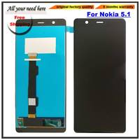 LCD Dispaly Screen Monitor Module For Nokia 5.1 With Touch Glass Digitizer Assembly Replacement Parts
