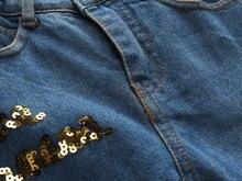 Autumn Newest Girls Clothes Suit Jacket +T shirt + Jeans 3 Pcs Set Fashion Rose Cardigan Tops Sequin Kids Coat