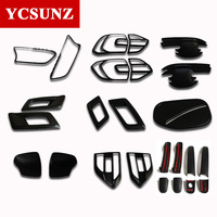 2016-2017 For Ford Everest Endeavour Black Kits For Ford Everest Decorative Lamp Hood Suitable Ford Endeavour Car Styling Ycsunz