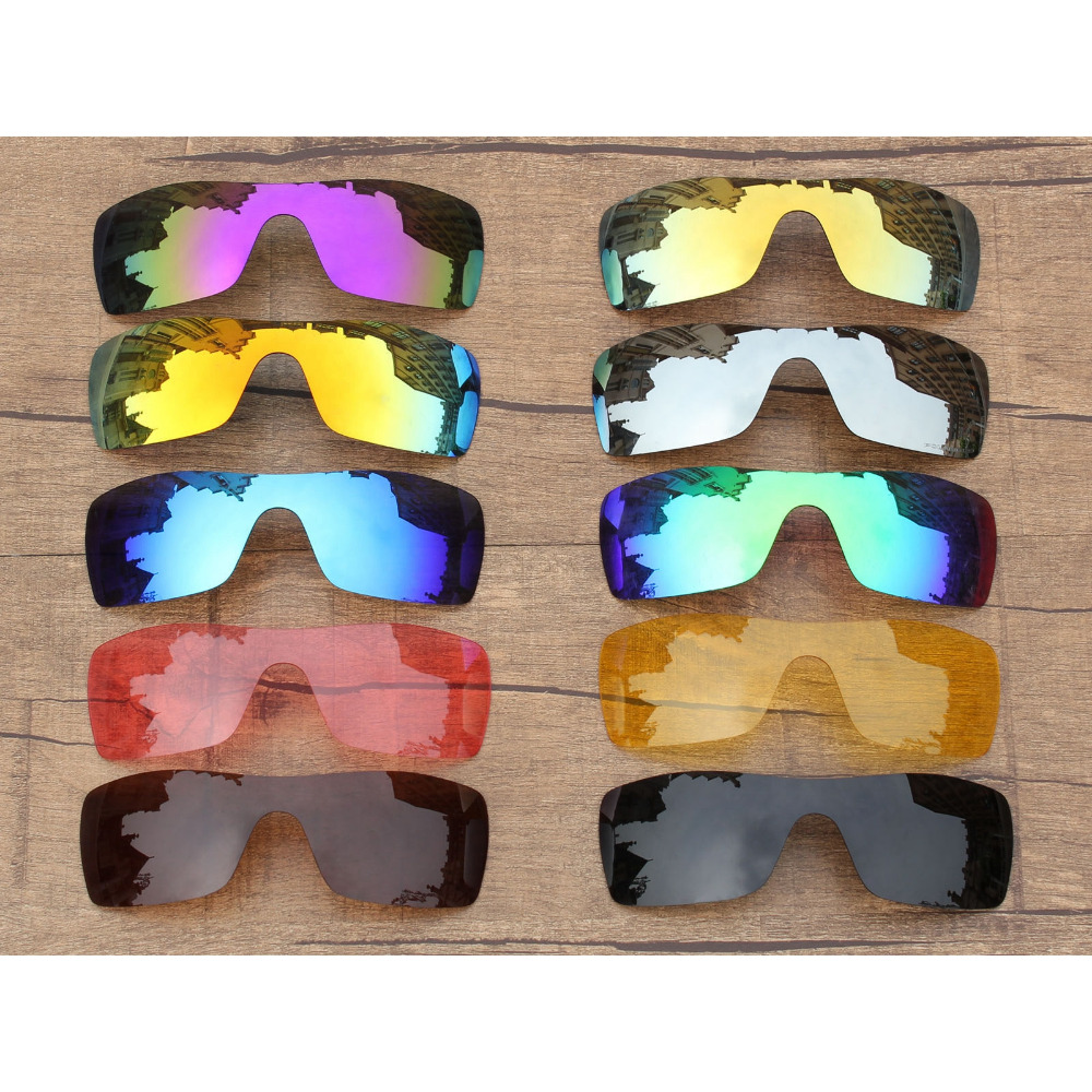 Vonxyz 20+ Color Choices Polarized Replacement Lenses For-Oakley Batwolf Frame