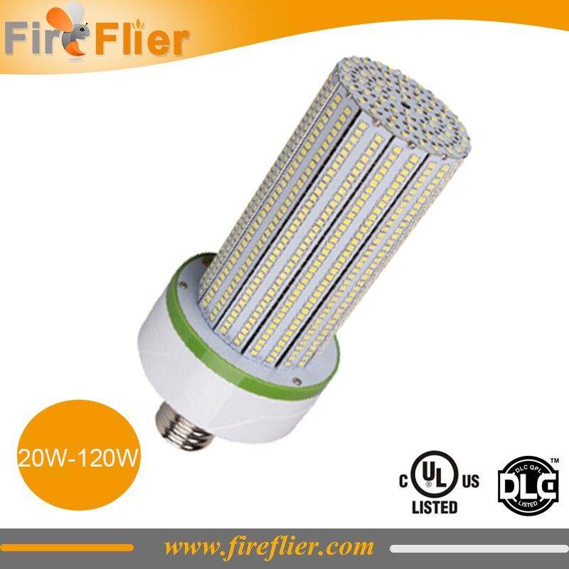 8 pcs/lot SMD maïs lampe 20 w 30 w 40 w e27 LED ampoule de maïs e40 60 w 80 w 100 w 120 w usine lampe ampoule 360 degrés pour remplacer 300 w 400 w CFL