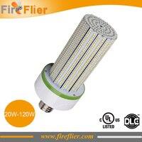 Free Shipping E27 LED Corn Bulb E40 120w 360degree Angle To Replace 400w CFL