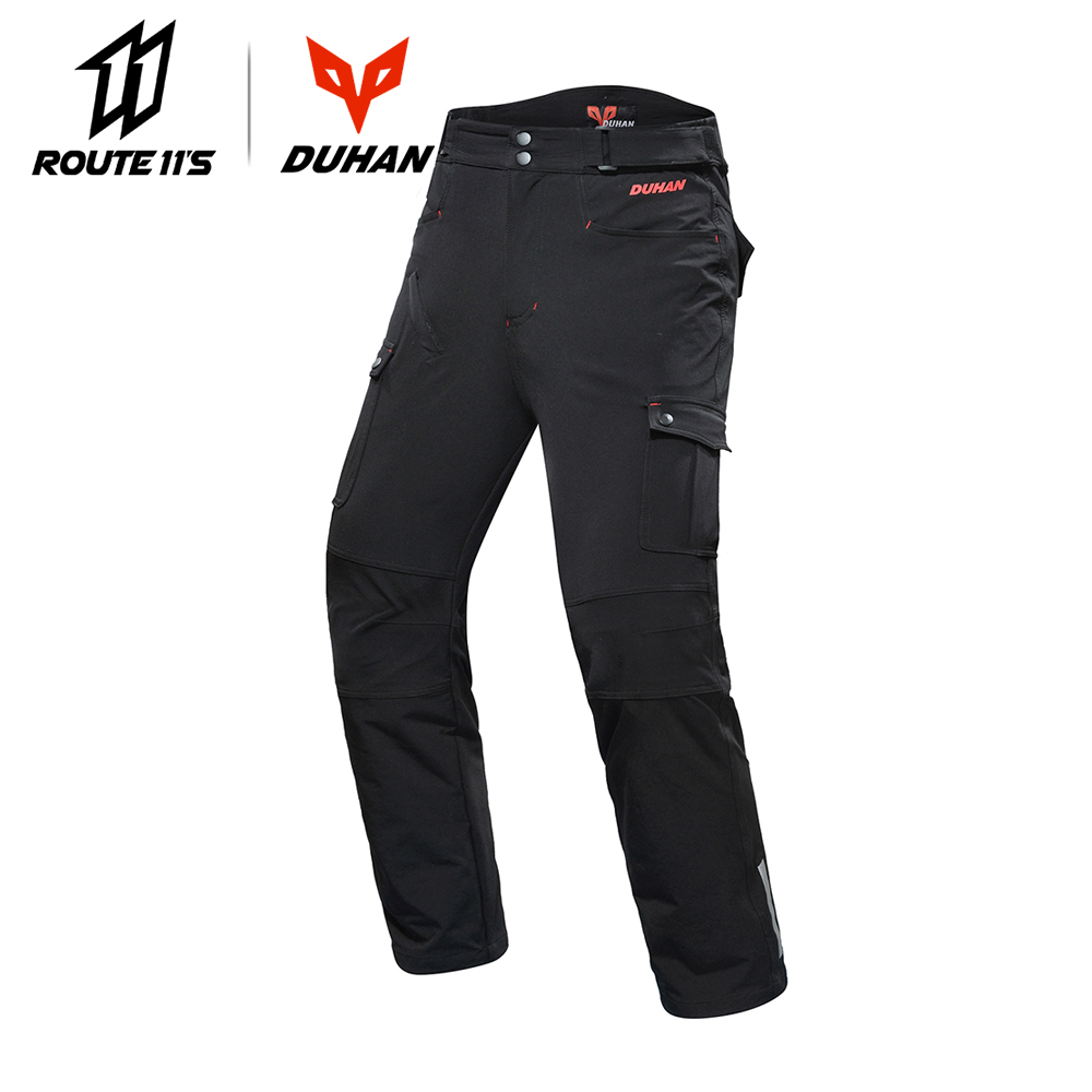 DUHAN Motorcycle Pants Motocross Pants Black Moto Pants Motocross Off-Road Racing Sports Knee Protective Motorcycle TrousersDUHAN Motorcycle Pants Motocross Pants Black Moto Pants Motocross Off-Road Racing Sports Knee Protective Motorcycle Trousers