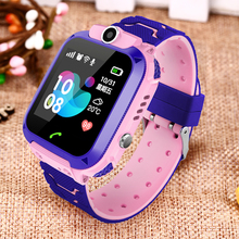 LIGE 2019 Smart Baby Watch LED Color screen  SOS Call stand by 2G SIM Card LBS Base Station Position Childrens