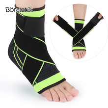 1PCS Safety Ankle Support Weaving Elastic Strap Brace Badminton Basketball Football Taekwondo Fitness Heel Protector Sock