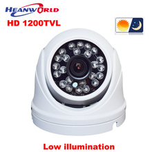 CCTV Camera 1200tvl HD Waterproof mini Dome Surveillance Security Camera Outdoor With DSP Low illumination Good Night Vision
