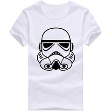 Free Shipping Tops Tees Cheap Star War T Shirts Men O Neck Cotton Man T Shirt