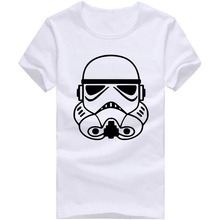 Free Shipping Tops Tees Cheap Star War T Shirts Men O Neck Cotton Man T-Shirt Fashion Mens tshirt
