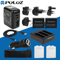 Battery Combo Kit (Wall Charger Set + Batteries + Cable + Car Charger + Battery Charger + Mesh Bag) for GoPro HERO4 Pack of 13