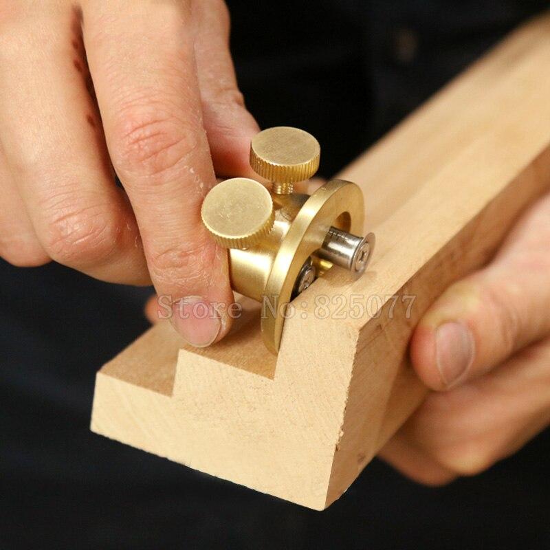 Carpintaria duplo-barra scribing ferramenta dispositivo para escultura em madeira, carpinteiro diy ferramenta jf1546