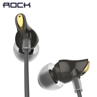ROCK In Ear Zircon Stereo Earphone Hot Sale 3 5mm Headset For IPhone Samsung Of Luxury