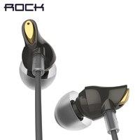 ROCK In Ear Zircon Stereo Earphone Hot Sale 3 5mm Headset For IPhone Samsung Of Luxury