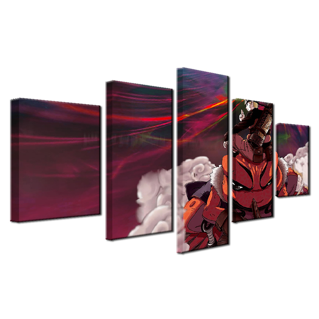 Naruto Characters Poster HD Prints Home Decor Framework