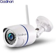 GADINAN HD 1080 P 720 720P ワイヤレス IP カメラ P2P RTSP モーション検出防水 WiFi カメラ弾丸 64 グラム SD カードスロット iCSee
